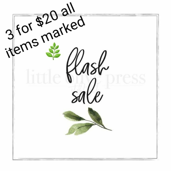 🌿3 for $20 all items marked 🌿